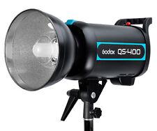 Godox Pro QS-400 QS400 400W 400Ws Studio Flash Strobe Light Lamp Head 200V-240V