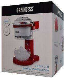 PRINCESS RETRO DISIGN Slush- und Crushed-Ice Maschine - Eiswürfel Zerkleinerer