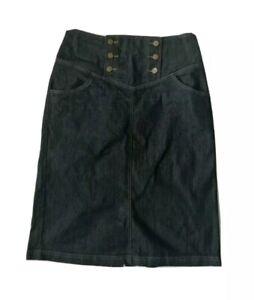 Ladies and Women denim Skirt UK 16