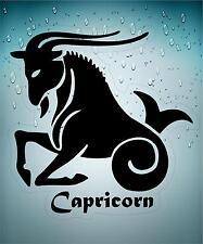 Pegatina sticker adhesivo signo astrologia zodiaco auto mackbook capricornio bla
