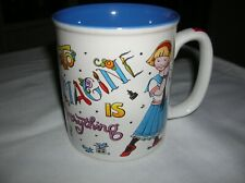 """Mary Engelbreit""""To Imagine is Everything"""" Mug Coffee Tea - Excellent Condition"""
