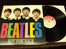 "BEATLES ""NOT FOR SALE"" LP OUTTAKES & DEMOS MONO JOHN LENNON PAUL MCCARTNEY ETC"