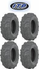 "(4) ITP Mud Lite II 27x9-14 FRONT & 27x11-14 REAR Complete Set of UTV 27"" Tires"