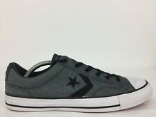 Converse All Star Chuck Taylor Grey Textile Trainer Sneaker Men UK 10 Eur 44