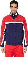 NWT Men's FILA DIEGO track jacket size medium 50% off msrp LM911296 410
