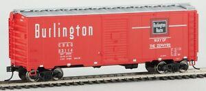 Walthers 910-1775 40' AAR 1948 Boxcar Chicago Burlington & Quincy #63114