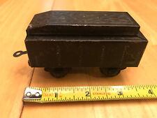 BUB German Train S Gauge Tinplate 4 Wheel Black Square Tender Lot H