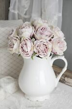 Rosenbouquet Rosenstrauß Rose Kunstblume Hochzeit Seidenrose Strauß Shabby Chic