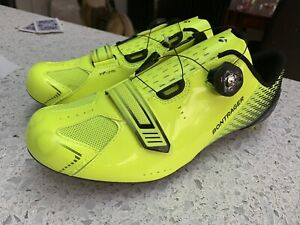 Bontrager Specter Inform road BOA cycling shoes UK11 EUR45 yellow neon new