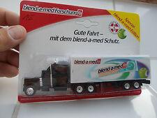 """US Truck 1:87 Sattelzug schwarz """"Blend-a-med"""" in OVP TOP Nr. 135"""