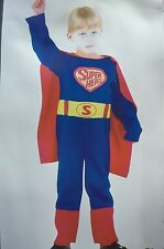 KIDS CHILDRENS BOYS SUPERHERO FANCY DRESS COSTUME FOR PARTIES HALLOWEEN BIRTHDAY