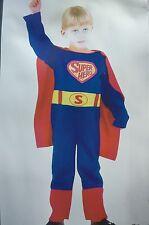KIDS CHILDRENS BOYS SUPERHERO FANCY DRESS COSTUME FOR PARTIES HALLOWEEN BIRTHDAY