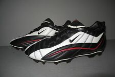 NIKE AIR Soccer Cleat - MEN'S Size 11.5 Black White Red