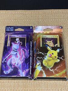 Pokémon TCG Pikachu Power & Mewtwo Mayhem XY Evolutions Theme Deck Bundle Sealed