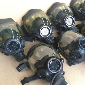 MSA Millennium CBRN 40mm Gas Mask Size Medium Authentic Genuine MSA