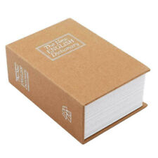 Large Secret Dictionary Book Safe Security Key Lock Money Cash Jewelry Hide Box