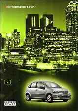 Citroen C3 Stop & Start 1.4i 16v 2004-05 UK Market Foldout Sales Brochure