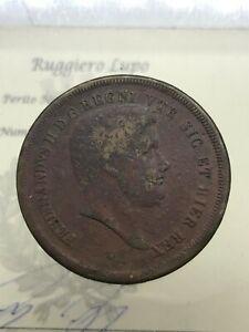 10 Tornesi 1840 Ferdinando II di Borbone mb/bb