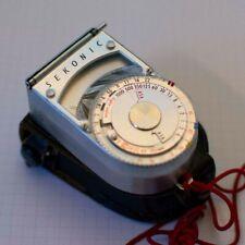 Vintage Haminex Sekonic L-8 Light Meter with Case - 1950's