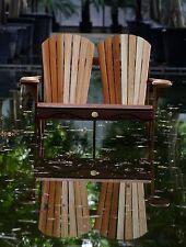 (1) The Bear Chair BC800C Red Cedar Adirondack Loveseat Patio Porch Chair Kit