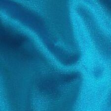 "TURQUOISE Nylon Tricot * Fabric Sewing Lingerie Aerial Yoga Silks Hammock 104"""
