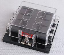 DC32V 8 Way Circuit Car Boat Automotive Auto Blade Fuse Box Block Holder ATC ATO