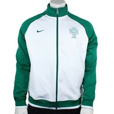 Nike Men's Authentic Portugal Core Trainer Jacket White/Green 2XL 467838 100
