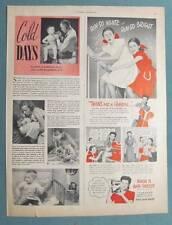 Original 1946 Rinso Non Celebrity Endorsement Ad EGAN TWINS OF NEW HYDE PARK, NY