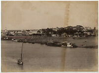 Egitto Aswan , Foto Lekegian, Vintage Albume D'Uovo, Albumina Ca 1880