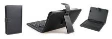 """Housse étui universel noir avec clavier Qwerty pour tablette tactile 7"""""""