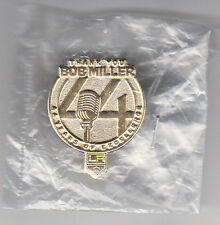 2016-17 BOB MILLER LOS ANGELES KINGS THANK YOU FOR 44 YEARS OF EXCELLENCE PIN