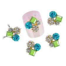 Fashion 3D Crystal Rhinestone Alloy Nail Art Glitters DIY Manicure Decorations