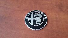 Logo Fregio Stemma Emblema Volante ALFA ROMEO 147 GIULIA GIULIETTA GT MITO 40mm