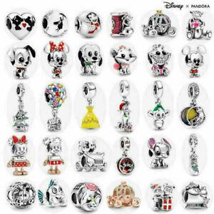 UK New ALE S925 Genuine Silver Pandora Disney Charm With Gift bag