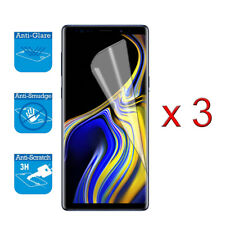 For Samsung Galaxy Note 9 - Screen Protector Guard LCD Film Foil x 3 (NOT FULL)