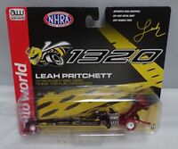 AUTO WORLD NHRA LEAH PRITCHETT 2018 ANGRY BEE TOP FUEL DRAGSTER CHASE 1/64