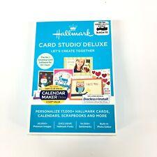 Hallmark Card Studio Deluxe 2017 Calander Maker Ll5