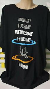 MENS 3XL SHIRT PORTALS SHIRT MONDAY- THURSDAY AND FALL THROUGH TO MONDAY (: