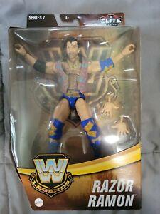 Mattel WWE Elite Collection Razor Ramon Figure