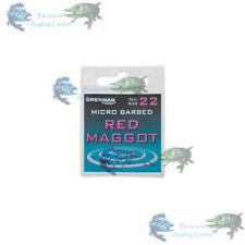 Drennan Spade End Hooks (Red MaggotWide GapeCarbon FeederSuper Spade)