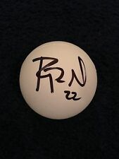 RYAN POWELL SIGNED LACROSSE  BALL COA SYRACUSE