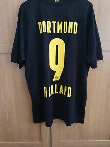 Puma Dortmund Away Shirt 20/21 BNWT HAALAND 9