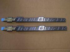 NOS OEM Chevrolet TrailBlazer Emblem Pair Badges Logo 2000 2001 2002 2003 2004