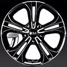 "17"" 4D Real Carbon Wheel Mask Decal Sticker For Kia Forte K3"