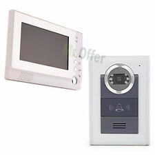 Videocitofono registra telecamera led monitor 7'' memoria interna videocitofoni