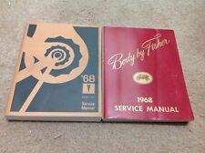 1968 PONTIAC Firebird GTO LEMANS BONNEVILLE CATALINA Service Repair Manual Set