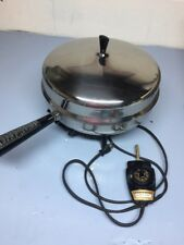 """Faberware Electric Skillet 12"""" Imerseable 310-a Working Good Vintage"""