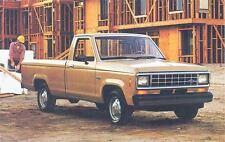 1987 Ford Ranger ORIGINAL Factory Postcard my0516