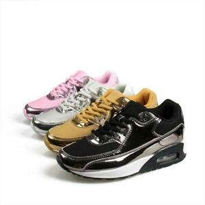 Mens Fashion Platform Sneakers Shoes Women's Flats Running Athletic Casual 36-46