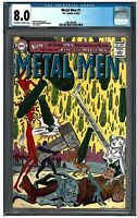 METAL MEN #1 CGC 8.0 (4-5//63) DC Comics off-white to white